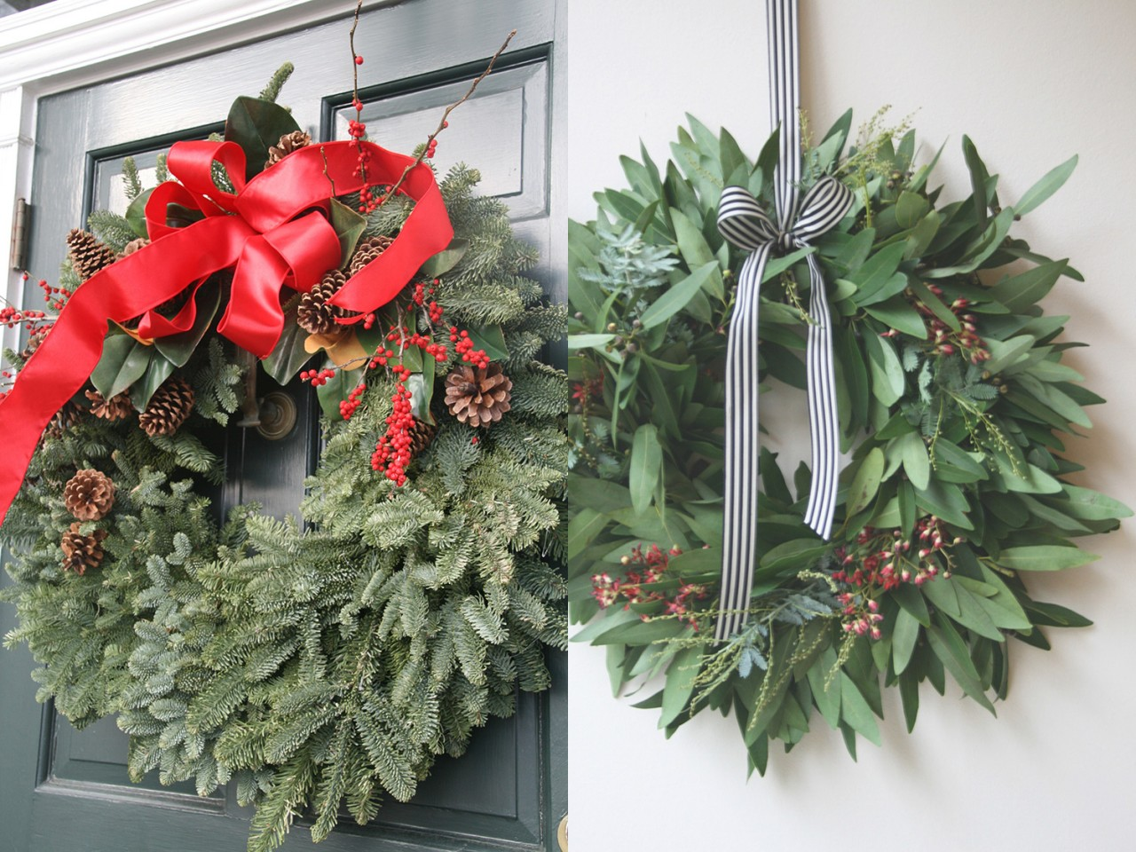 East Coast/West Coast Holiday Decor