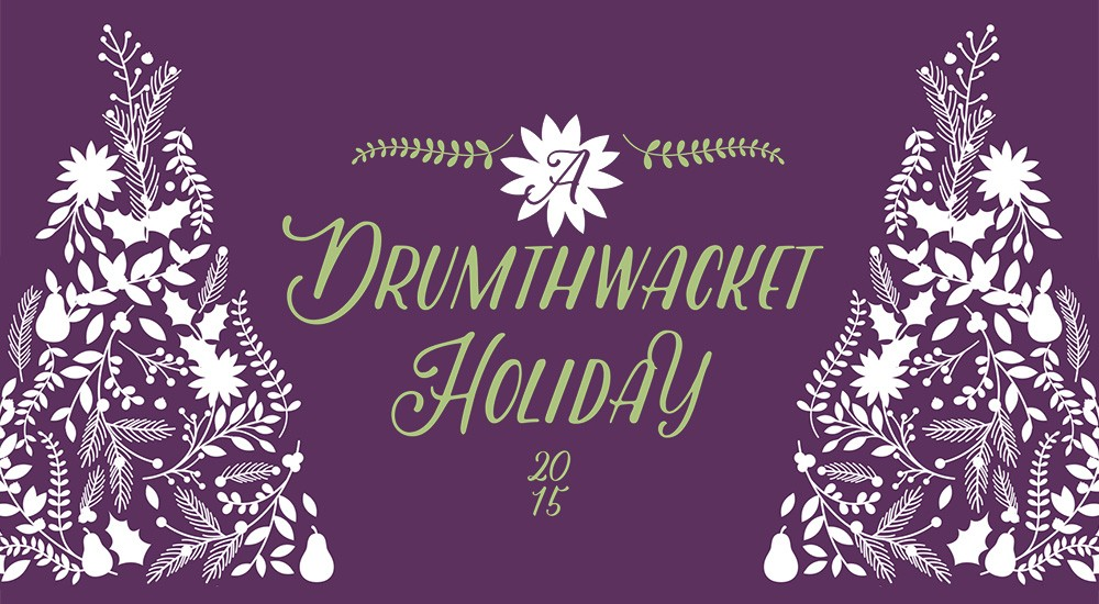 Dressing Up Drumthwacket for the Holidays