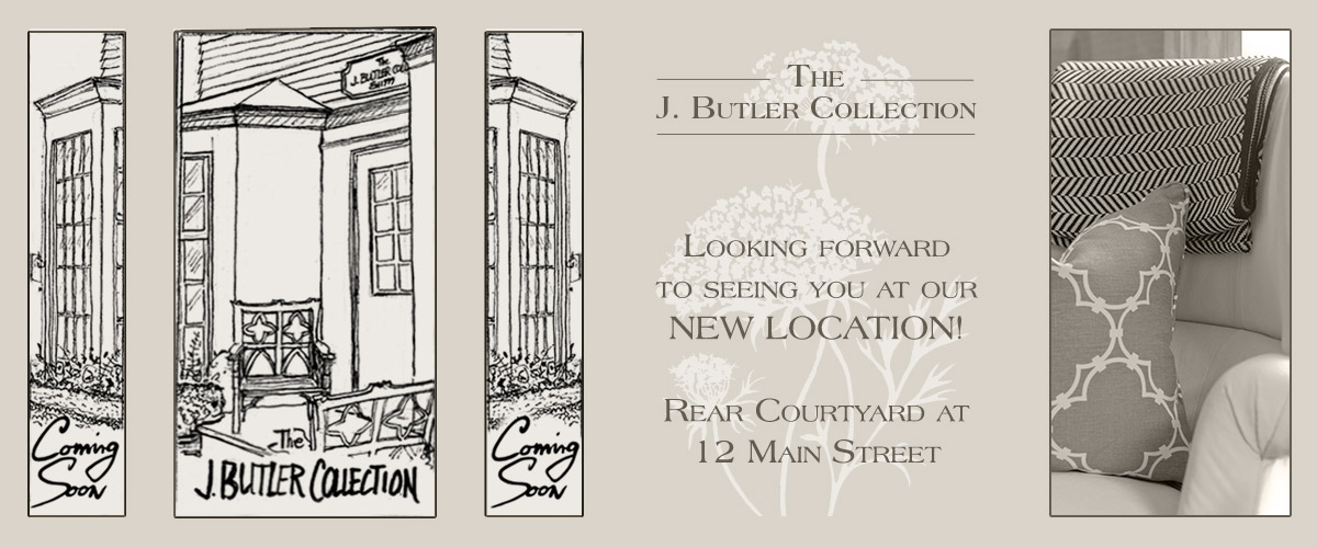 J. Butler Collection Opening Soon