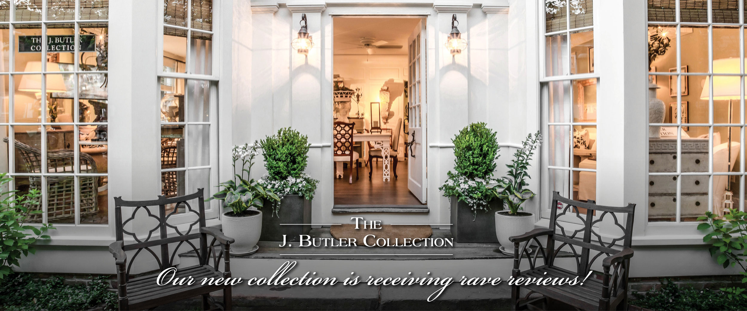 the j Butler Collection receives rave reviews