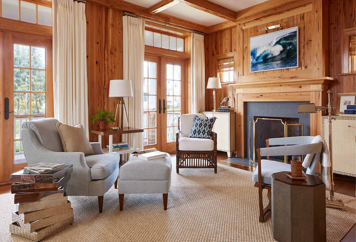 15 spring lake study interior design with fireplace